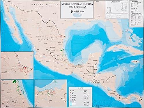 Mexico/Central America Oil & Gas Map: 9780878145485: Amazon.com: Books