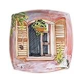 Vietri Landscape Wall Plates Open Window Wall Plate