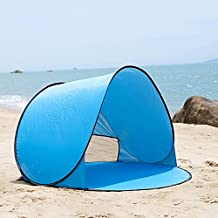 Portable 2-3 Person Auto Pop Up Outdoor Comping Beach Sun Shade Tent