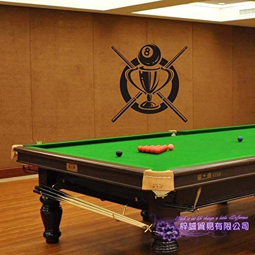 zaosan Etiqueta de la Pared Etiqueta de Billar Snooker Decal ...