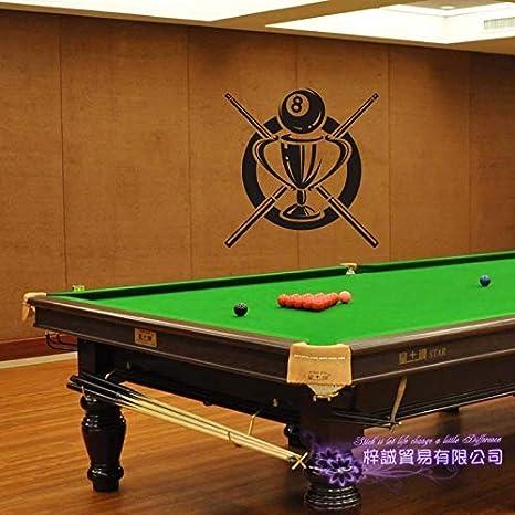 zaosan Etiqueta de la Pared Etiqueta de Billar Snooker Decal ...