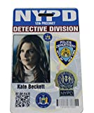Castle Kate Beckett Prop Badge