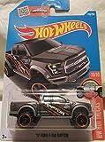 hot wheels ford f 150 - Hot Wheels 2016 HW Hot Trucks, '17 Ford F-150 Raptor [Dark Gray] 150/250