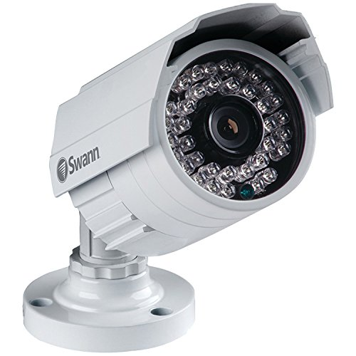 Swann 1080p HD Bullet Camera Surveillance Camera, White/Black (SWPRO-T855CAM-US) PRO-T855 - 1080P Multi-Purpose Day/Night Security Camera - Night Vision 100ft / -