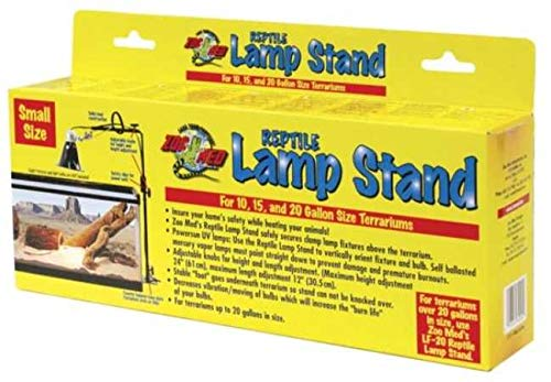 Zoo Clamp Lamp - Zoo Med Reptile Lamp Stand (Small)