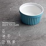 Sweese 501.003 Porcelain Souffle Dishes, Ramekins