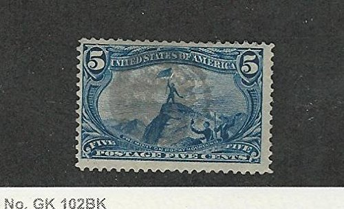 United States, Postage Stamp, 288 Used, 1898 Fremont