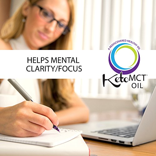 KetoMCT C8 MCT oil, 32 oz, Most Potent on Market, Developed by world class Ph. D doctor and professor of nutrition, trusted choice of Practitioners