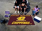Central Michigan Chippewas Tailgater Mat w Official School Logo