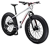 Cheap Mongoose Argus Comp Men's 26″ Fat Tire Bicycle, Medium Frame Size, White