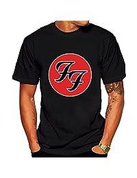 Men's American rock band Foo Fighters T shirt XXL Black Short Sleeve