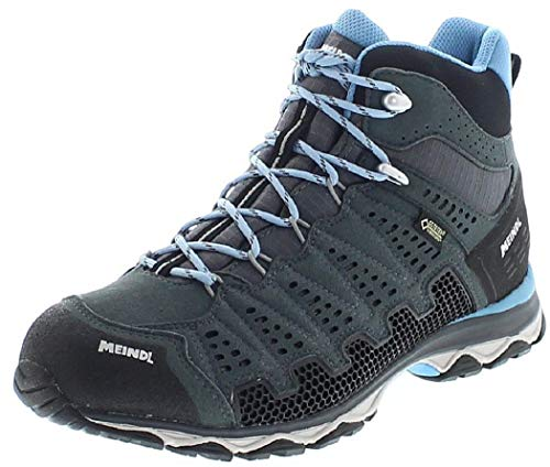 Meindl 3985-31 X-SO 70 Lady Mid GTX Women's Hiking Boots Anthracite Azure
