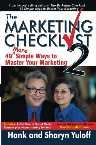 The Marketing Checklist 2: 49 More Simple Ways to Master Your Marketing ebook