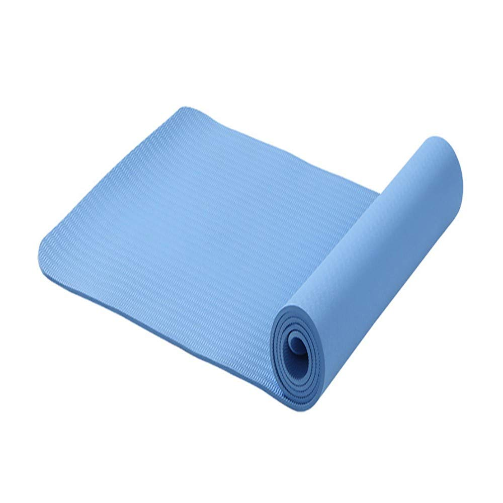 XPORTOR Yoga Matte Mehrfarbige Rutschfeste Feuchtigkeits- Yoga Matte Anfänger Yoga Matte Fitness Pilates Gymnastik Matte Übung
