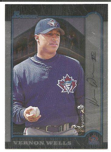 Vernon Wells 1999 Bowman Toronto Blue Jays International Parallel Card #94