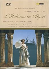 148 minute DVD featuring Doris Soffel and Robert Gambill.L'Italiana in Algeri (The Italian Girl in Algiers), Rossini's first real hit as a writer of comic opera, is one of those almost unsinkable works difficult to get entirely right. Michael...