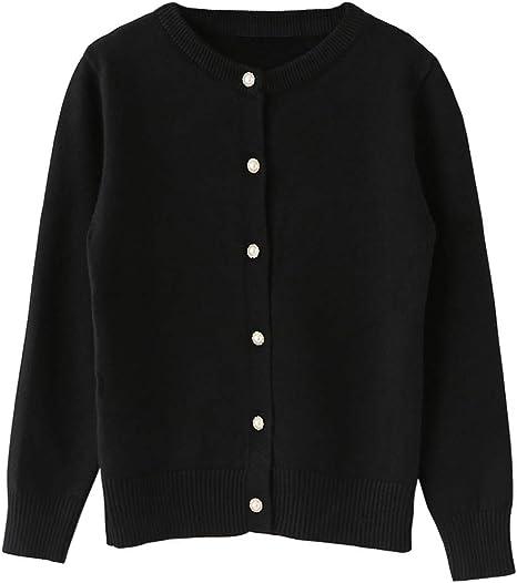 Zeco School Uniform Girls Sweatshirt Cardigan