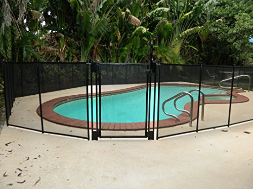 Pool Fence Diy By Life Saver Self Closing Gate Kit Black