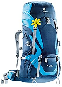 Deuter ACT Lite 60 + 10 SL - Ultralight Trekking Backpack, Midnight/Turquoise
