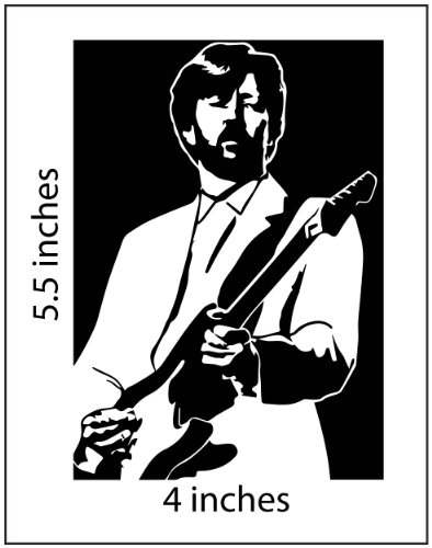 ERIC CLAPTON Stickers Cut Vinyl Decal