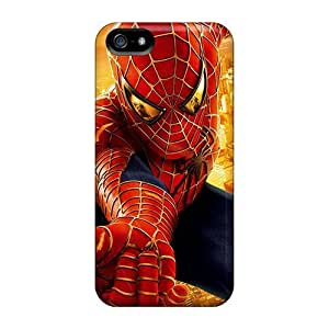 5/5s Scratch-proof Protection Case Cover For Iphone/ Hot Spider Man Phone Case by icecream design