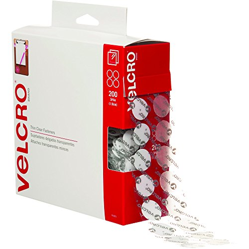 Partners Brand PVEL151 Velcro Tape, Combo Packs, Dots, 0.75
