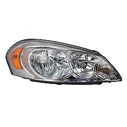 Passengers Headlight Headlamp Lens Replacement for Chevrolet 25958360