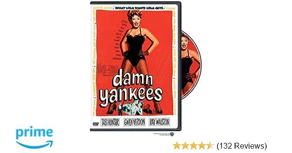 Amazon com: Damn Yankees: Tab Hunter, Gwen Verdon, Ray
