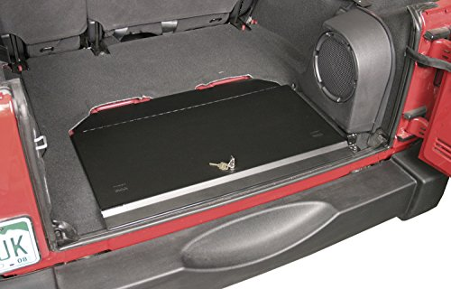 Tuffy 143-01 Locking Cubby Cover, Black, for 2007+ Jk Wrangler