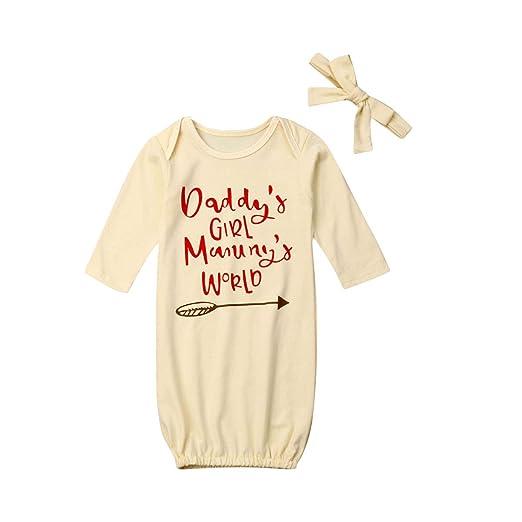 iBccly - Conjunto de Pijama Unisex de algodón para bebé: Amazon.es ...