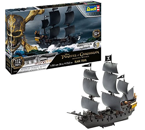 Pirates Of The Caribbean Black Pearl - Revell 05499 - Pirates of The Caribbean - The Black Pearl 1:150 Scale