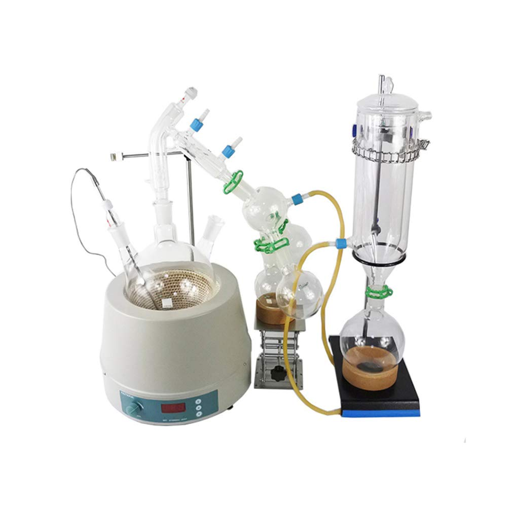 haocheng Factory Stocks Available Sale 5L Short Path Distillation with Stirring Heating Mantle
