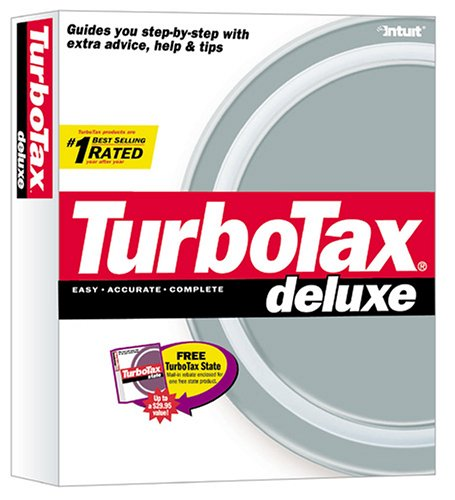 Intuit TurboTax Deluxe 2002