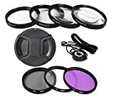 Professional Filter Kit For Nikon D3100 Digital SLR Camera with 18-55mm Lens