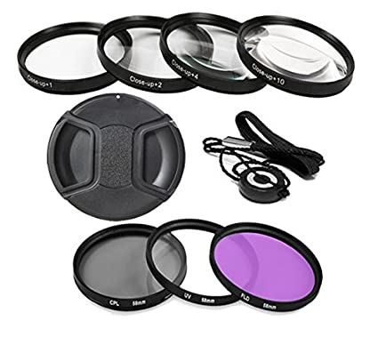 Profesional Kit de filtro para Nikon D3100 Cámara réflex digital ...