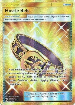 Hustle Belt 179//168 Secret Rare Pokemon TCG Online *DIGITAL CARD*