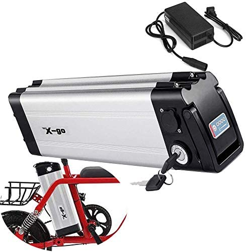 X-go Batería Bicicleta 36 v Ebike Batería 36V 10Ah Batería de ...
