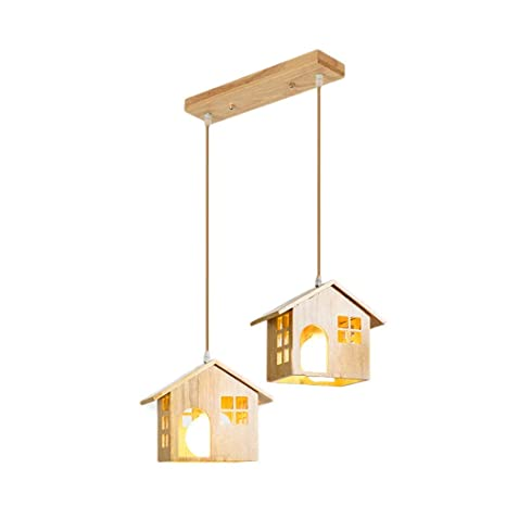 MWPO Lámparas japonesas domésticas Lámparas de Madera ...