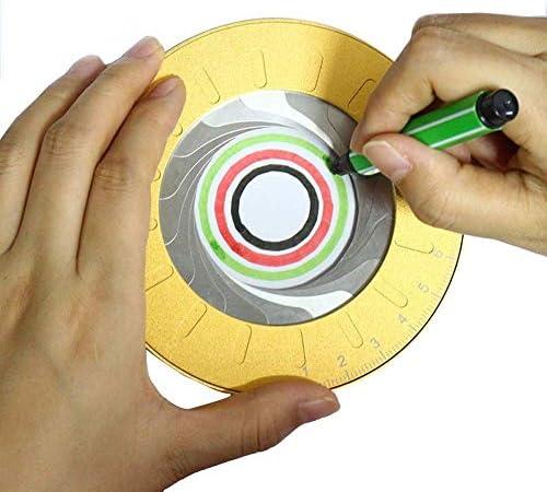 Herramienta geométrica de círculos de dibujo de aleación de ...