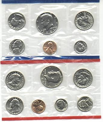 1981 P /& D United States Mint Coin Set SEALED w// original Envelope