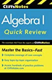 img - for CliffsNotes Algebra I Quick Review, 2nd Edition (Cliffs Quick Review (Paperback)) book / textbook / text book