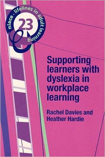 PDF von Büchern herunterladen Supporting Learners with Dyslexia in Workplace Learning (Lifelines) PDF DJVU by Rachel Davies