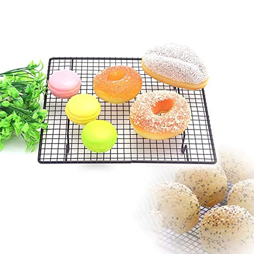 Zollyss Nonstick Cooling Rack Cooling Grid Baking Tray for Biscuit Cookie Pie Bread Cake Baking Rack