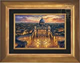 Thomas Kinkade - Vatican Sunset 12'' x 18'' Gallery Proof (G/P) Limited Edition Canvas (Aurora Gold)