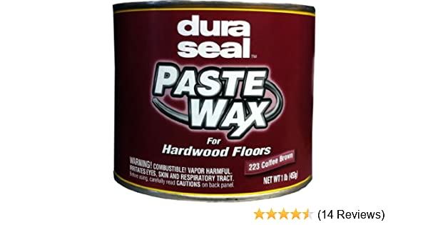 Amazon Dura Seal Wood Paste Wax Coffee Brown 1 Lb Can Home