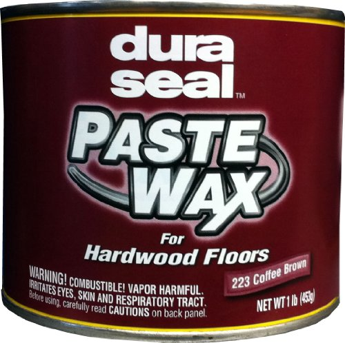 Wax Resin Seal - Dura Seal Wood Paste Wax - Coffee Brown - 1 Lb Can