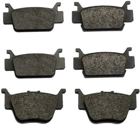 Volar Front /& Rear Brake Pads for 2006-2015 Honda Rincon 680 TRX680 Fourtrax Semi Metallic