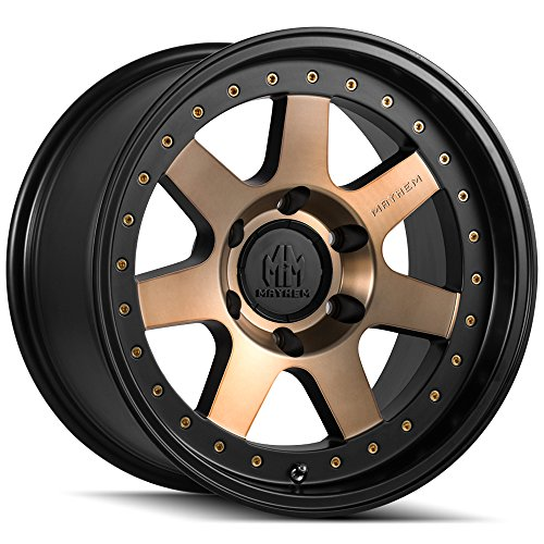 Mayhem PRODIGY MATTE BLACK W/BROZNE TINT Wheel with (179''/6120mm -6mm Offset)