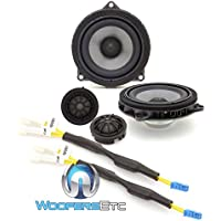 Rockford Fosgate T3-BMW1 4 50W RMS Component Speakers System for Select BMW Models