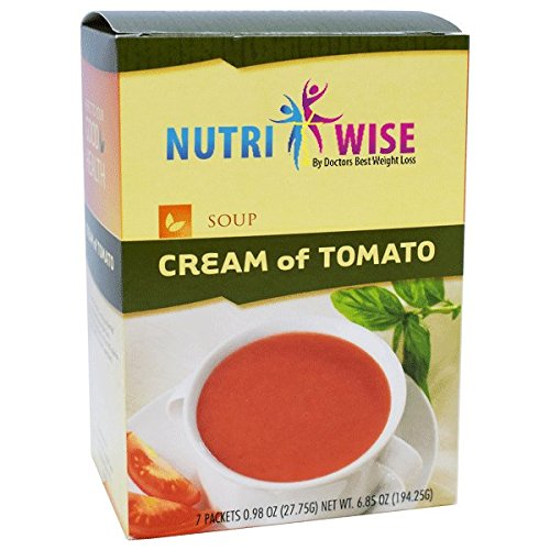 HealthWise Cream of Tomato, (7 packets of .979oz, net 6.853oz)